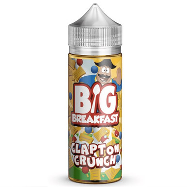 Clapton Crunch E Liquid (120ml Shortfill with 2 x 10ml nicotine shots to make 3mg) by Big Breakfast Only £19.49 (Zero Nicotine)