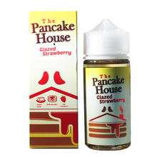 Glazed Strawberry E Liquid 100ml By The Pancake House (120ml of e liquid with 2 x 10ml nicotine shots to make 3mg)