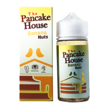 Banana Nuts E Liquid 80ml By The Pancake House (100ml of e liquid with 2 x 10ml nicotine shots to make 3mg)