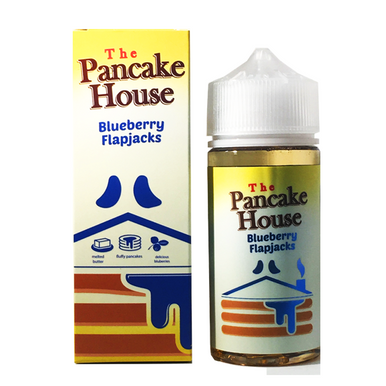Blueberry Flapjacks E Liquid 80ml By The Pancake House (100ml of e liquid with 2 x 10ml nicotine shots to make 3mg)