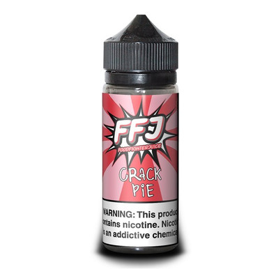 Crack Pie E Liquid (120ml Shortfill with 2 x 10ml nicotine shots to make 3mg) by Food Fighter Juice Only £19.99 (Zero Nicotine)