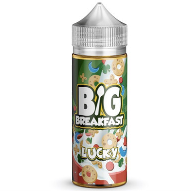Lucky E Liquid (120ml Shortfill with 2 x 10ml nicotine shots to make 3mg) by Big Breakfast Only £19.49 (Zero Nicotine)