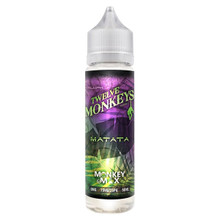 Matata E Liquid 50ml By Twelve Monkeys (60ml of e liquid with 1 x 10ml nicotine shots to make 3mg)
