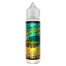 Mangabeys E Liquid 60ml By Twelve Monkeys (70ml of e liquid with 1 x 10ml nicotine shots to make 3mg)