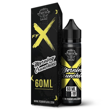 FFX Morning Crunchies E Liquid 50ml Shortfill by Fcukin Flava