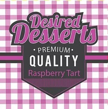 Raspberry Tart E Liquid 50ml by Desired Desserts