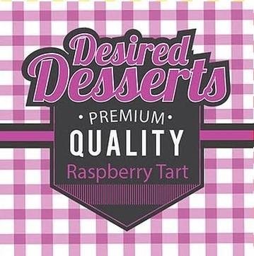 Raspberry Tart E Liquid 50ml by Desired Desserts