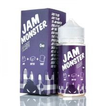 Grape Jam Monster Eliquid 100ml by Fresh Juice Co (Zero Nicotine & Free Nic Shots)