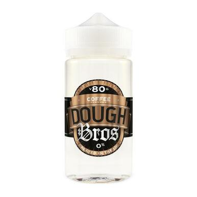 Coffee Dough Bros E Liquid 80ml Shortfill  (100ml Shortfill with 2 x 10ml nicotine shots to make 3mg) By Dough Bros