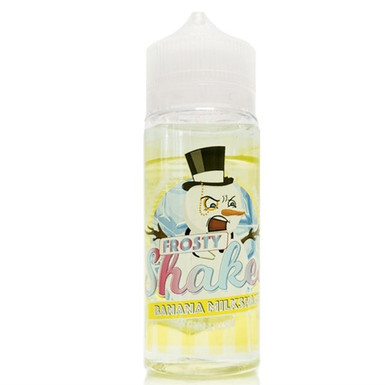Frosty Shakes Banana Milkshake E Liquid 100ml by Dr Frost (Zero Nicotine & Free Nic Shots to make 120ml/3mg)