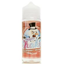 Frosty Shakes Strawberry Milkshake E Liquid 100ml by Dr Frost (Zero Nicotine & Free Nic Shots to make 120ml/3mg)