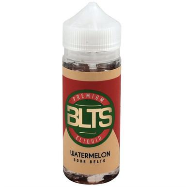 Watermelon Sour Belts E Liquid 100ml Shortfill by BLTS  (Zero Nicotine & Free Nic Shots to make 120ml/3mg)