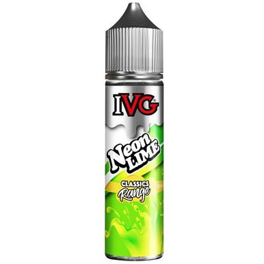 Neon Lime E Liquid 50ml by I VG E Liquids Classic Range Only £11.99 (Zero Nicotine)