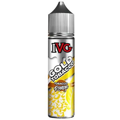 Gold Tobacco E Liquid 50ml by I VG Tobacco Range Only £11.99 (Zero Nicotine)