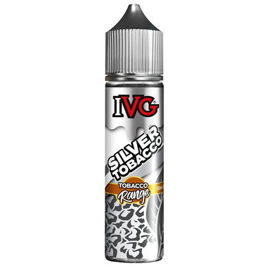 Silver Tobacco E Liquid 50ml by I VG Tobacco Range Only £11.99 (Zero Nicotine)