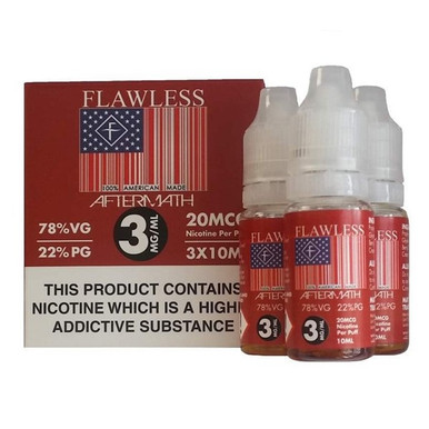 Aftermath E Liquid 3x10ml By Flawless