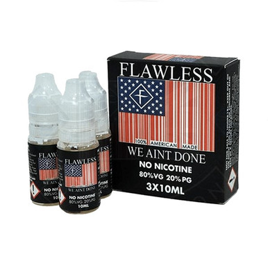 We Ain't Done E Liquid 3x10ml By Flawless