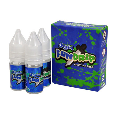 Blue Rasp Sour Apple E Liquid 3x10ml By Fun Drip