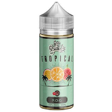 Tropical POG 80ml Shortfill (100ml Shortfill with 2 x 10ml nicotine shots to make 3mg) By Juice Roll Upz