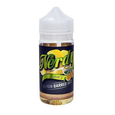 Lemon Barred E Liquid 80ml Shortfill (100ml Shortfill with 2 x 10ml nicotine shots to make 3mg) By Nerdy