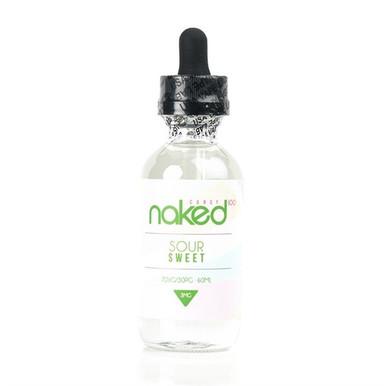 Green Lemon/Sour Sweet E Liquid 50ml Shortfill by Naked 100 (Zero Nicotine)
