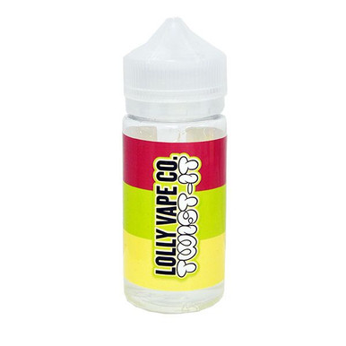 Twist-It E Liquid 80ml Shortfill (100ml Shortfill with 2 x 10ml nicotine shots to make 3mg) By Lolly Vape Co