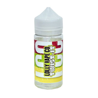 Twist-It Ice E Liquid 80ml Shortfill (100ml Shortfill with 2 x 10ml nicotine shots to make 3mg) By Lolly Vape Co