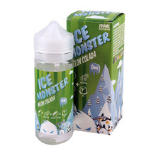 Melon Colada Ice Montser Eliquid 100ml by Fresh Juice Co Only £19.99 (Free Nic Shots)