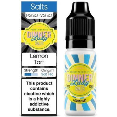 Lemon Tart Nic Salt E Liquid 10ml By Dinner Lady