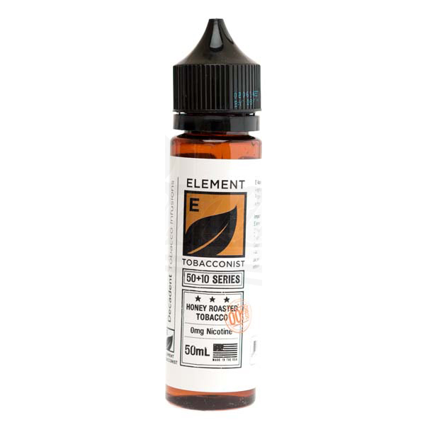 Honey Roasted Tobacco E Liquid 50ml Shortfill by Element Tobacconist Series
