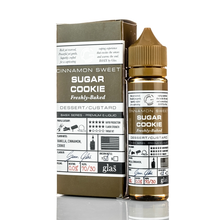 Sugar Cookie E Liquid 50ml(60ml with 1 x 10ml nicotine shots to make 3mg) by Glas Basix