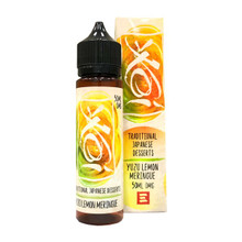 Yuzu Lemon Meringue Koi E Liquid 50ml(60ml with 1 x 10ml nicotine shots to make 3mg) by Element (Zero Nicotine)