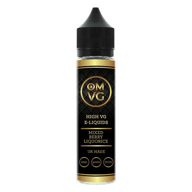 Mixed Berry & Liquorice Shortfill E Liquid 50ml by OMVG (FREE NICOTINE SHOT)
