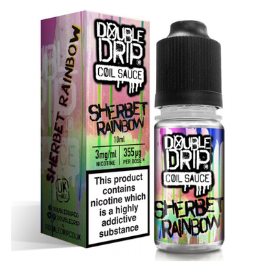 Sherbet Rainbow E Liquid By Double Drip Coil Sauce 10ml