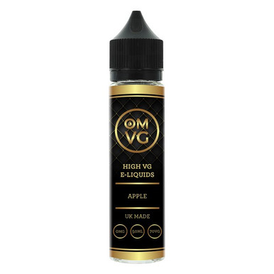 Apple Shortfill E Liquid 50ml by OMVG (FREE NICOTINE SHOT)