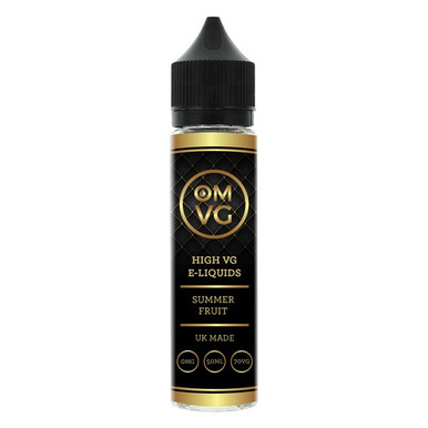 Summer Fruit Shortfill E Liquid 50ml by OMVG (FREE NICOTINE SHOT)