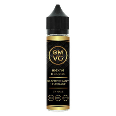 Blackcurrant & Lemonade Shortfill E Liquid 50ml by OMVG (FREE NICOTINE SHOT)