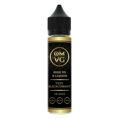 Fizzy Blackcurrant Shortfill E Liquid 50ml by OMVG (FREE NICOTINE SHOT)