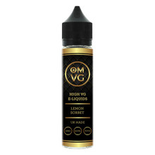 Lemon Sorbet E Liquid 50ml by OMVG (FREE NICOTINE SHOT)