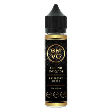 Raspberry Ripple E Liquid 50ml by OMVG (FREE NICOTINE SHOT)
