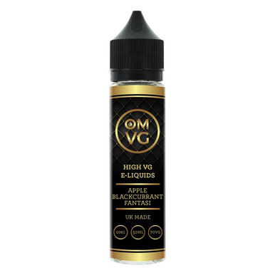 Apple Blackcurrant Fantasi Shortfill E Liquid 50ml by OMVG (FREE NICOTINE SHOT)