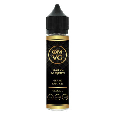 Grape Fantasi Shortfill E Liquid 50ml by OMVG (FREE NICOTINE SHOT)