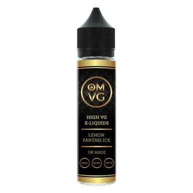 Lemon Fantasi Ice Shortfill E Liquid 50ml by OMVG (FREE NICOTINE SHOT)