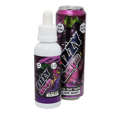 Fizzy Grape E Liquid 55ml (65ml with 1 x 10ml nicotine shots to make 3mg)Shortfill by Mohawk & Co