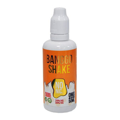 Banggo Shake E Liquid 50ml(60ml with 1 x 10ml nicotine shots to make 3mg) Shortfill by Milkshake Liquids