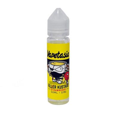Strawberry Killer Custard E Liquid 50ml (60ml with 1 x 10ml nicotine shots to make 3mg) Shortfill by Vapetasia