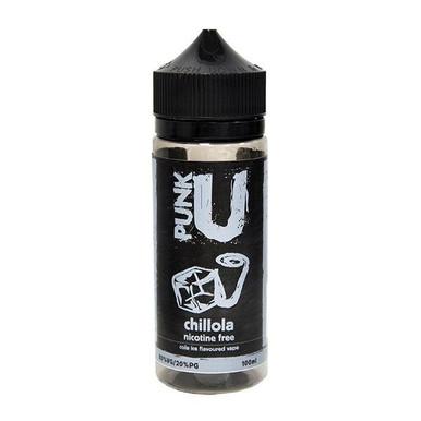 Chillola E Liquid 100ml Shortfill By Punk U