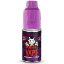 Rhubarb Custard E Liquid 10ml By Vampire Vape