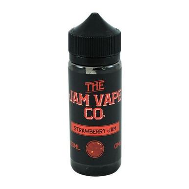 Strawberry Jam E Liquid 100ml (120ml with 2 x 10ml nicotine shots to make 3mg)Shortfill By Jam Vape Co