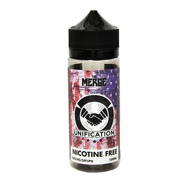 Unification E Liquid 100ml (120ml with 2 x 10ml nicotine shots to make 3mg) Shortfill By The Merge